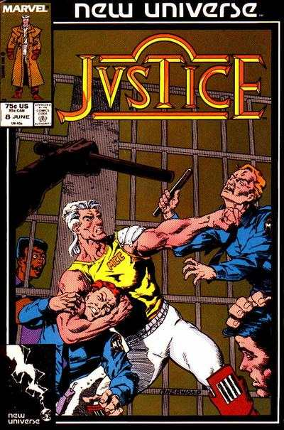 Justice #8 Comic Books - Covers, Scans, Photos  in Justice Comic Books - Covers, Scans, Gallery