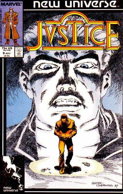 Justice #9 Comic Books - Covers, Scans, Photos  in Justice Comic Books - Covers, Scans, Gallery