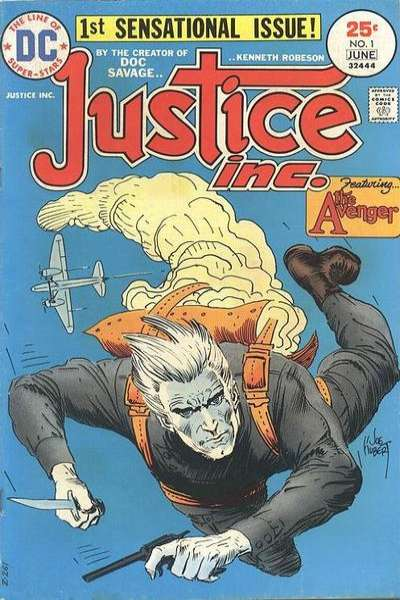Justice Inc. #1 Comic Books - Covers, Scans, Photos  in Justice Inc. Comic Books - Covers, Scans, Gallery