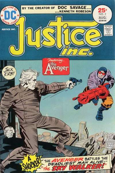 Justice Inc. #2 Comic Books - Covers, Scans, Photos  in Justice Inc. Comic Books - Covers, Scans, Gallery