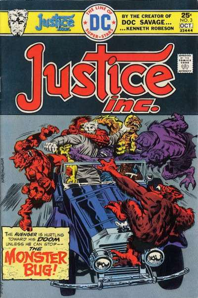 Justice Inc. #3 Comic Books - Covers, Scans, Photos  in Justice Inc. Comic Books - Covers, Scans, Gallery