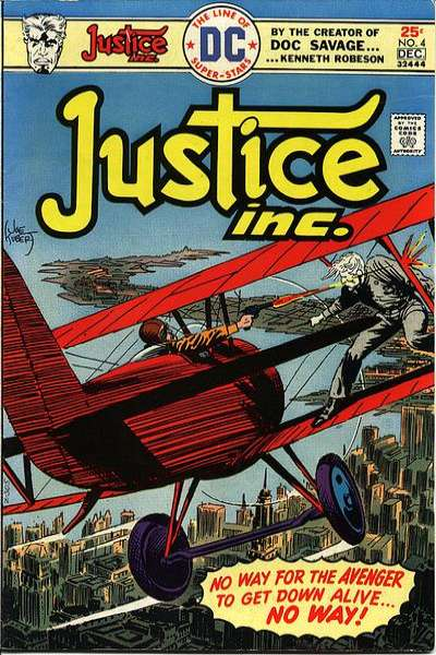 Justice Inc. #4 Comic Books - Covers, Scans, Photos  in Justice Inc. Comic Books - Covers, Scans, Gallery