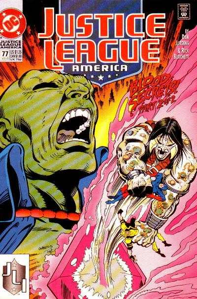 Justice League #77 Comic Books - Covers, Scans, Photos  in Justice League Comic Books - Covers, Scans, Gallery