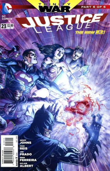 Justice League #23 comic books - cover scans photos Justice League #23 comic books - covers, picture gallery
