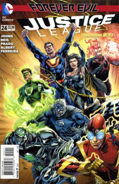 Justice League #24 Comic Books - Covers, Scans, Photos  in Justice League Comic Books - Covers, Scans, Gallery