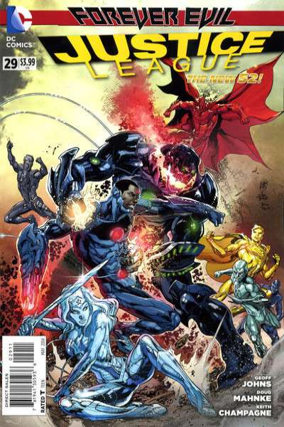 Justice League #29 comic books for sale