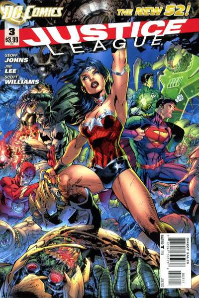 Justice League #3 Comic Books - Covers, Scans, Photos  in Justice League Comic Books - Covers, Scans, Gallery