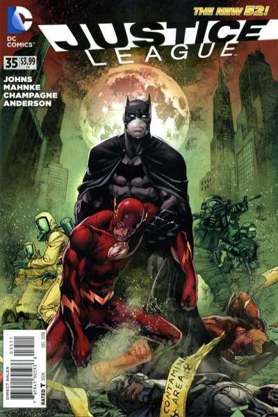 Justice League #35 comic books for sale