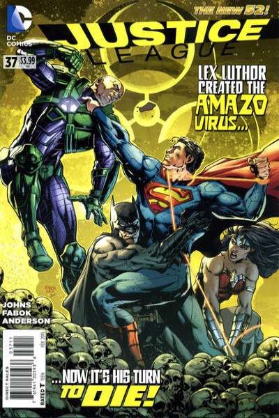 Justice League #37 comic books for sale
