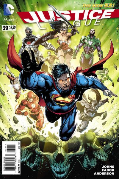 Justice League #39 comic books for sale