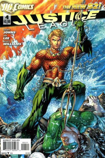 Justice League #4 Comic Books - Covers, Scans, Photos  in Justice League Comic Books - Covers, Scans, Gallery
