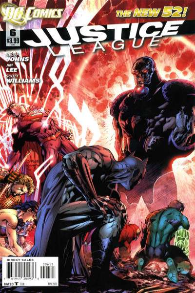 Justice League #6 Comic Books - Covers, Scans, Photos  in Justice League Comic Books - Covers, Scans, Gallery