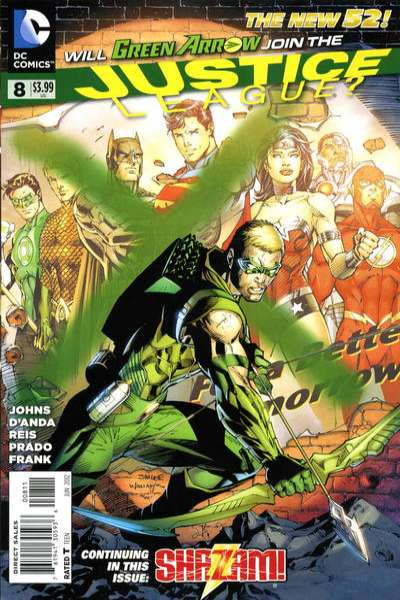 Justice League #8 Comic Books - Covers, Scans, Photos  in Justice League Comic Books - Covers, Scans, Gallery