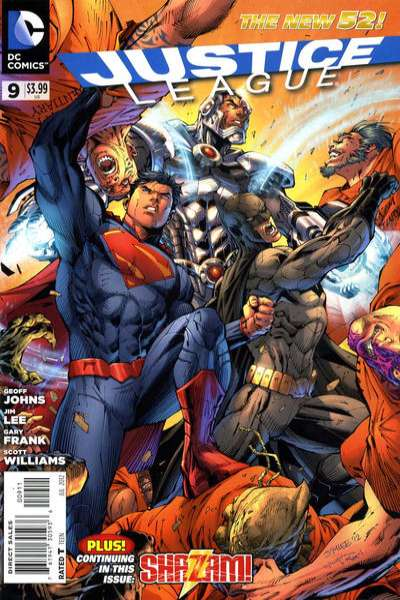Justice League #9 Comic Books - Covers, Scans, Photos  in Justice League Comic Books - Covers, Scans, Gallery