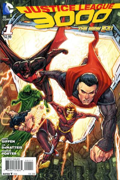 Justice League 3000 comic books
