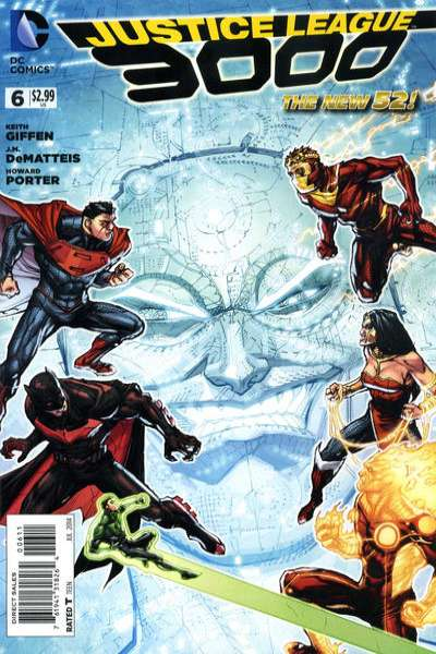 Justice League 3000 #6 comic books - cover scans photos Justice League 3000 #6 comic books - covers, picture gallery