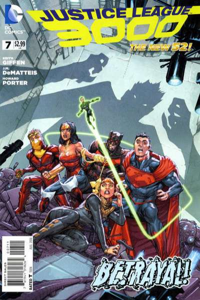 Justice League 3000 #7 comic books for sale
