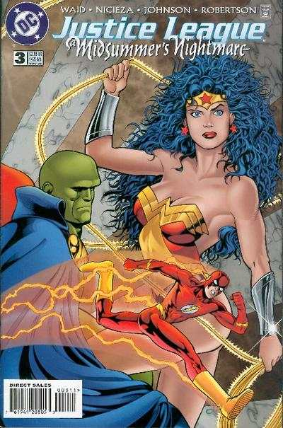 Justice League: A Midsummer's Nightmare #3 Comic Books - Covers, Scans, Photos  in Justice League: A Midsummer's Nightmare Comic Books - Covers, Scans, Gallery