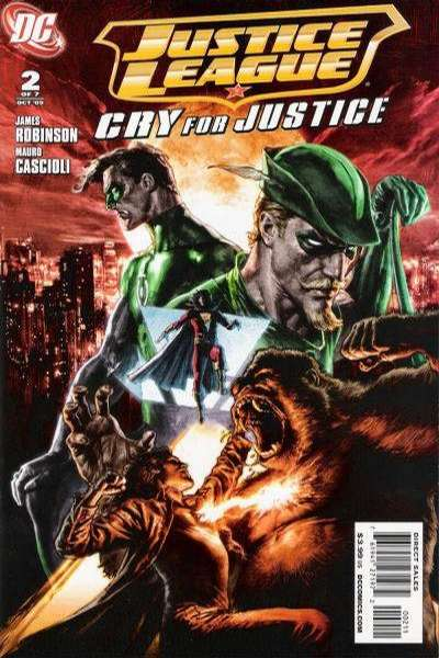 Justice League: Cry for Justice #2 comic books for sale