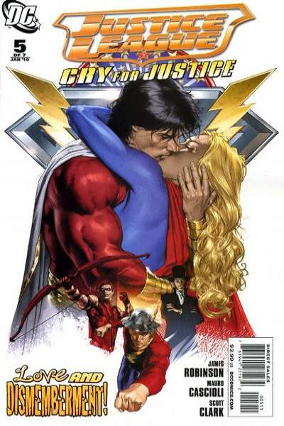 Justice League: Cry for Justice #5 comic books for sale