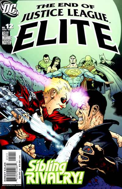 Justice League Elite #12 comic books - cover scans photos Justice League Elite #12 comic books - covers, picture gallery