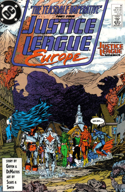 Justice League Europe #8 comic books - cover scans photos Justice League Europe #8 comic books - covers, picture gallery