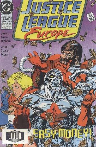 Justice League Europe #10 comic books - cover scans photos Justice League Europe #10 comic books - covers, picture gallery