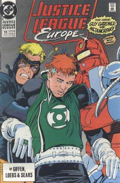 Justice League Europe #11 comic books - cover scans photos Justice League Europe #11 comic books - covers, picture gallery