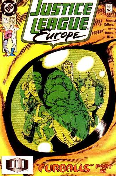 Justice League Europe #13 Comic Books - Covers, Scans, Photos  in Justice League Europe Comic Books - Covers, Scans, Gallery