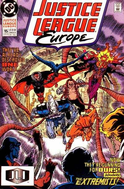 Justice League Europe #15 comic books - cover scans photos Justice League Europe #15 comic books - covers, picture gallery