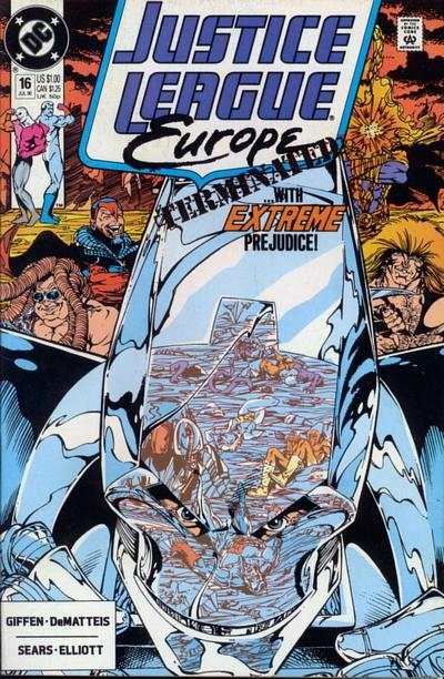 Justice League Europe #16 Comic Books - Covers, Scans, Photos  in Justice League Europe Comic Books - Covers, Scans, Gallery