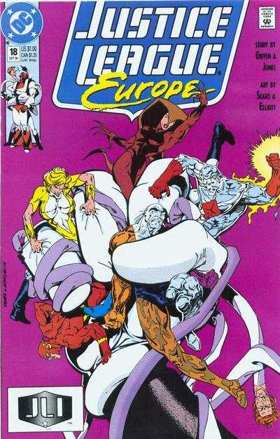 Justice League Europe #18 Comic Books - Covers, Scans, Photos  in Justice League Europe Comic Books - Covers, Scans, Gallery