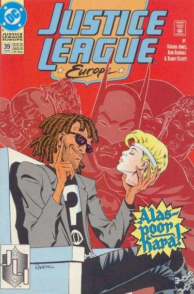 Justice League Europe #39 comic books for sale