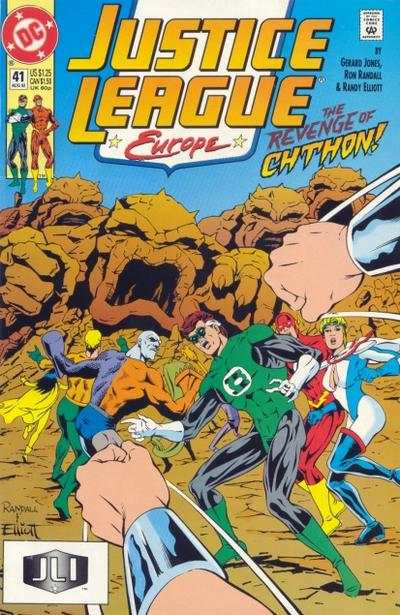 Justice League Europe #41 comic books for sale