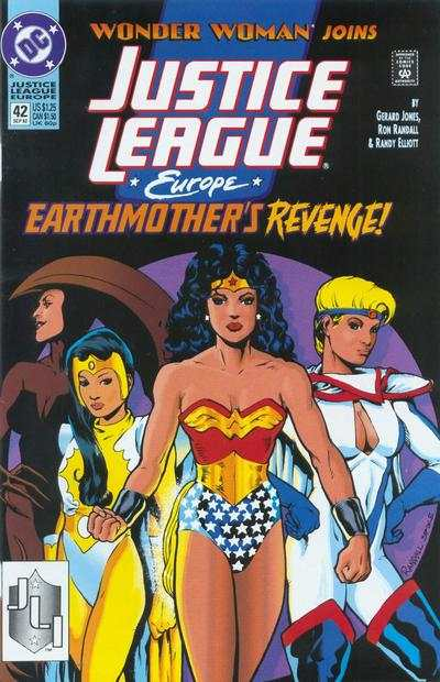 Justice League Europe #42 comic books - cover scans photos Justice League Europe #42 comic books - covers, picture gallery