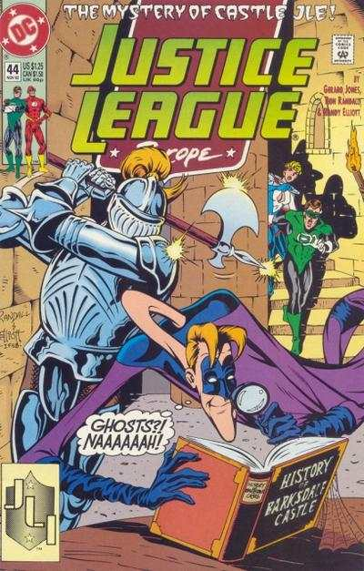 Justice League Europe #44 comic books - cover scans photos Justice League Europe #44 comic books - covers, picture gallery