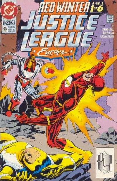 Justice League Europe #45 Comic Books - Covers, Scans, Photos  in Justice League Europe Comic Books - Covers, Scans, Gallery