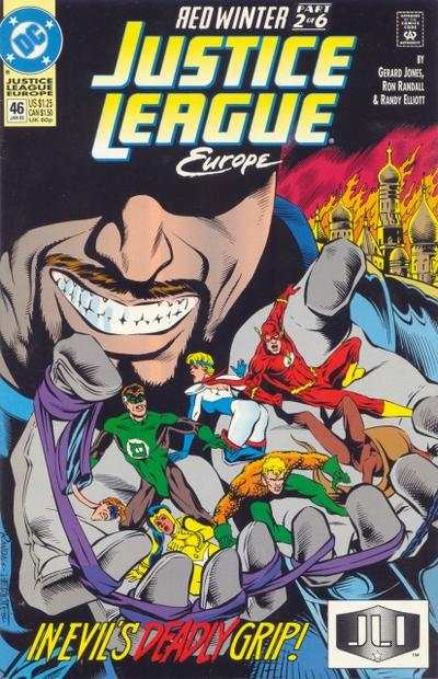 Justice League Europe #46 comic books - cover scans photos Justice League Europe #46 comic books - covers, picture gallery