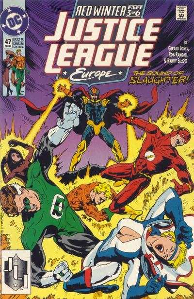 Justice League Europe #47 comic books - cover scans photos Justice League Europe #47 comic books - covers, picture gallery