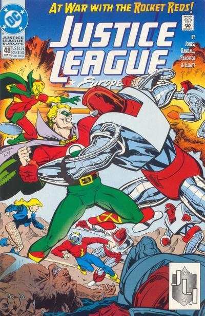Justice League Europe #48 comic books - cover scans photos Justice League Europe #48 comic books - covers, picture gallery
