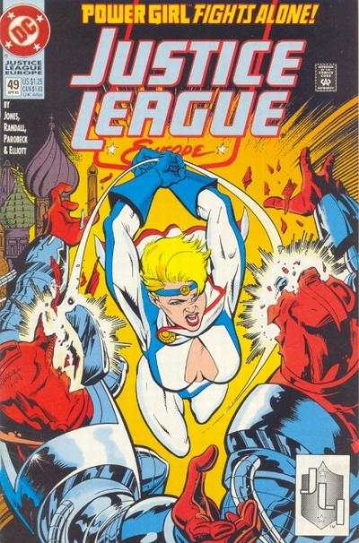 Justice League Europe #49 Comic Books - Covers, Scans, Photos  in Justice League Europe Comic Books - Covers, Scans, Gallery