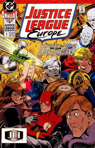 Justice League Europe #1 comic books - cover scans photos Justice League Europe #1 comic books - covers, picture gallery
