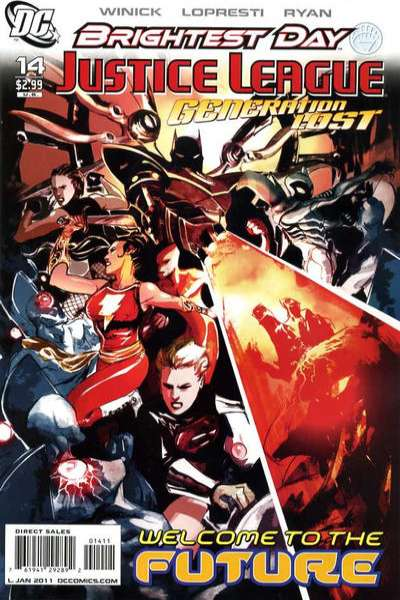 Justice League: Generation Lost #14 Comic Books - Covers, Scans, Photos  in Justice League: Generation Lost Comic Books - Covers, Scans, Gallery