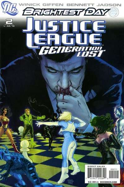 Justice League: Generation Lost #2 comic books - cover scans photos Justice League: Generation Lost #2 comic books - covers, picture gallery