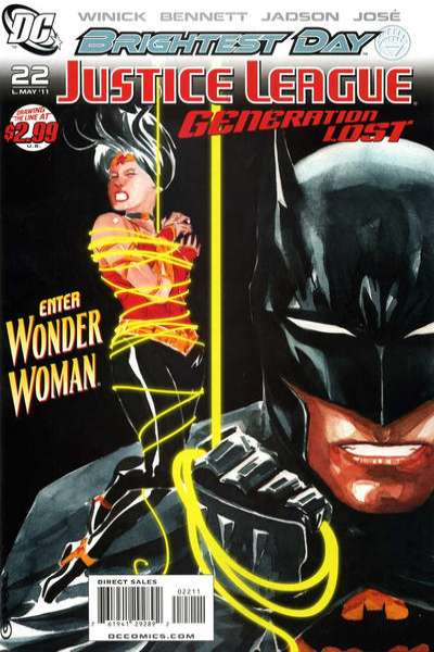 Justice League: Generation Lost #22 comic books for sale
