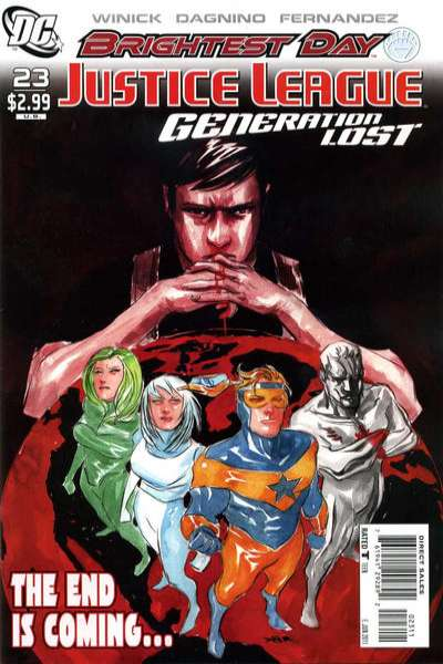 Justice League: Generation Lost #23 comic books - cover scans photos Justice League: Generation Lost #23 comic books - covers, picture gallery