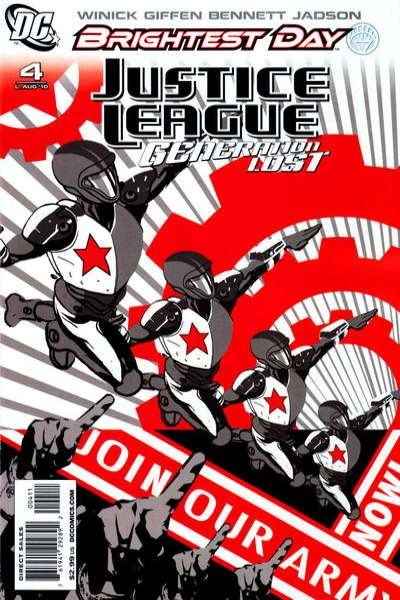 Justice League: Generation Lost #4 comic books - cover scans photos Justice League: Generation Lost #4 comic books - covers, picture gallery