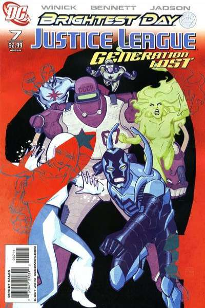 Justice League: Generation Lost #7 Comic Books - Covers, Scans, Photos  in Justice League: Generation Lost Comic Books - Covers, Scans, Gallery