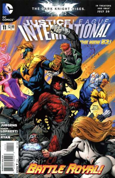 Justice League International #11 comic books - cover scans photos Justice League International #11 comic books - covers, picture gallery