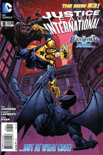 Justice League International #8 comic books - cover scans photos Justice League International #8 comic books - covers, picture gallery